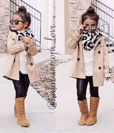 Toddler girl fall/winter outfit @KortenStEiN                                                                                                                                                                                 More