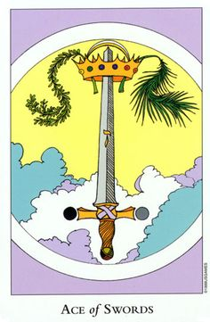 Tarot of the Sephiroth ► Ace of Swords