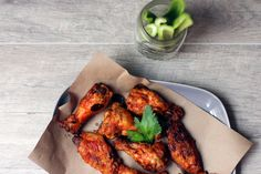 The days of hanging at our favorite neighborhood bars will be here again soon, we hope. While we wait, check out this Bloody Mary Wings recipe you can make at home. Recipe on our website! Homemade Wings, Bloody Mary Recipes, Wing Recipes, Home Chef, Tandoori Chicken, Chicken Wings, Food Photography, Brunch, Tasty