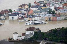 Flood in Passau, Germany