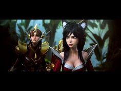 NEW League of Legends Cinematic: A New Dawn - This is by far the best cinematic they've done. The characters look great, and the music is awesome.