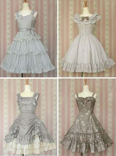 OMG love these little girl tea party dresses!