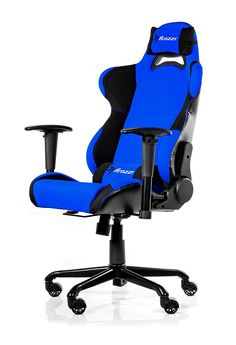 Arozzi Torretta Series Gaming Racing Style Swivel Chair, Blue The Torretta chair brings style into gaming with sleek sewing lines, vibrant colors and quality Cheap Desk Chairs, Old Chairs, Swinging Chair, Rocking Chair, Chair And Ottoman, Swivel Chair, Bedroom Setup, Races Style, Game Costumes