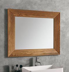 #Eban #Spiegel Violetta | #Glas und #Holz | im Angebot auf #bad39.de | #Badmöbel #Bad #Badezimmer #Einrichtung #Ideen #Italien