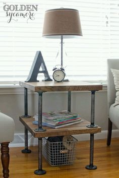 knock off decor – DIY from pier pottery barn, restoration hardware and much more. knock off decor – DIY from pier pottery barn, restoration hardware and much more. Pipe Furniture, Industrial Furniture, Furniture Projects, Home Projects, Farmhouse Furniture, Wicker Furniture, Upcycled Furniture, Home Goods Decor, Diy Home Decor