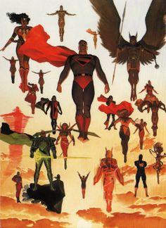 Kingdom Come poster by Alex Ross