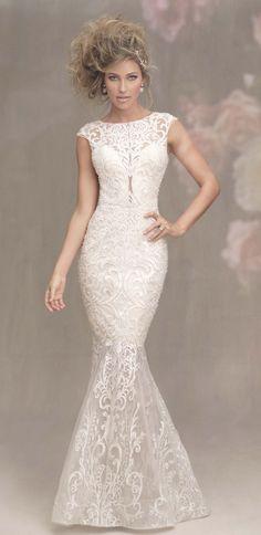 Featured Wedding Dress: Allure Bridals; www.allurebridals.com; Wedding dress idea.