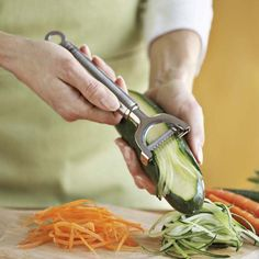 A lot of the tools and toys we want come in non-plastic versions if we shop around.  Rösle Julienne Peeler