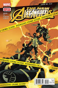 Marvel New Avengers Standoff comic issue 10 Free Comic Books, Comic Book Covers, Comic Books Art, Avengers 2015, New Avengers, Marvel Comic Universe, Comics Universe, Cosmic Comics, Marvel Dc