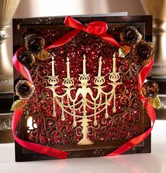 Crafter's Companion Create-a-Card Everyday die - Grand Candelabra. #crafterscompanion