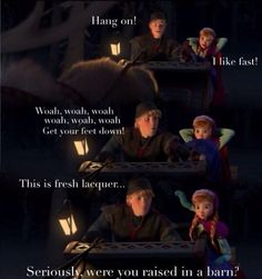 Frozen! Seriously love this movie! Can't wait to own it!