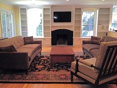 5 Fortunate Tips: Small Living Room Remodel Interiors livingroom remodel window . 5 Fortunate Tips: Small Living Room Remodel Interiors livingroom remodel window treatments. Small Basement Remodel, Modern Basement, Basement Renovations, Home Remodeling, Basement Ideas, Basement Plans, Basement Storage, Fireplace Windows, Fireplace Update