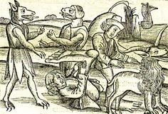 creepy engraving - Google Search Mystery, Cryptozoology, Creepy Art, Mythical Creatures, Horns, Medieval, Beast, Elephant, Bird