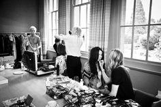 Cowley Manor behind the scenes - Cheltenham Fashion Week Daily Fashion, Fashion News, Fashion Show, Catwalk, Behind The Scenes