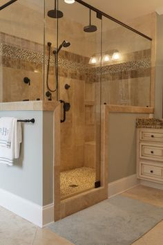 find this pin and more on bathroom remodel beige tile and oil rubbed bronze fixtures