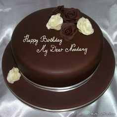 Best Website For Name Birthday Cakes Write Your On Rose Chocolate Picture In Seconds Make Awesome With New Happy