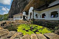 Lily pond at Dambulla (Cave Temple), Sri Lanka, by Colin White Beautiful Islands, Beautiful Places, Beautiful Pictures, Temple India, Lily Pond, Buddhist Temple, Place Of Worship, Day Tours, World Heritage Sites