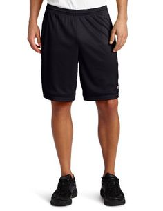 Champion Men's Long Mesh Short With Pockets,Black,LARGE >>> Click image to review more details.