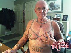 Weird Grandpa Tattoo