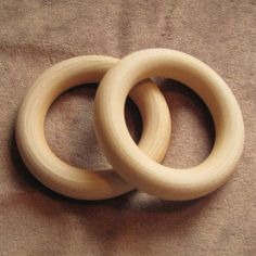 source for wooden rings for toy making