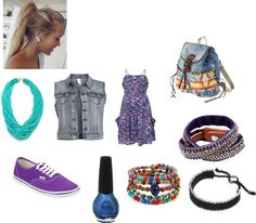 """""""Summer Rock Concert"""" by macer9312 ❤ liked on Polyvore"""