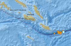 earthquakes Solomon Islands 23 May 2015