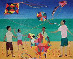 Djanira Motta e Silva 6 - Via Mark Swiiter Modern Art - Brazilian Art Art And Illustration, Illustrations, Traditional Paintings, Traditional Art, Naive Art, Types Of Art, Art Lessons, Motto, Modern Art