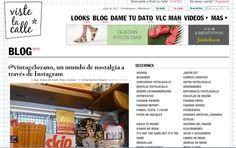 COLECCIONISTA Y AMANTE DEL  MUNDO RETRO Y VINTAGE : Nota publicada por Viste la Calle