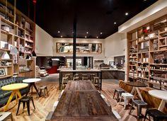 Kaper Design; Restaurant & Hospitality Design: Toby's Estate