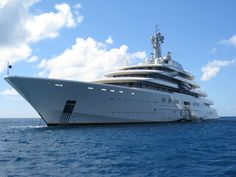 The Eclipse is a luxury yacht that goes for about $500mil. We'll take two.