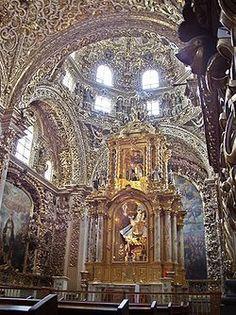 capilla del rosario puebla - Buscar con Google