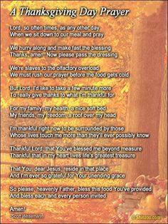 Thanksgiving prayer 9