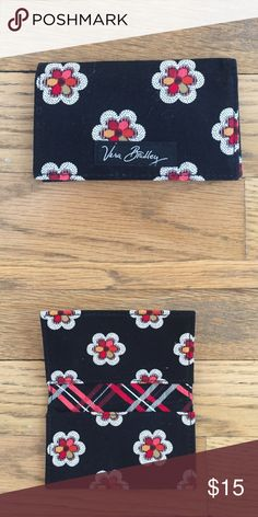 Vera Bradley Card Wallet Vera Bradley Card Wallet.  I used it for business cards, but you could also use it for your ID/credit card when using a small clutch.  Excellent condition!  Pockets on both top and bottom. Bags Wallets