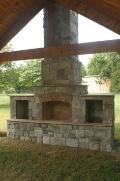 Kodiak Custom Masonry, Tulsa Brick Works | Outdoor Fireplaces | Outdoor Kitchens | Linnaeus Garden Outdoor Fireplace & Kitchens | BBQ Hardware