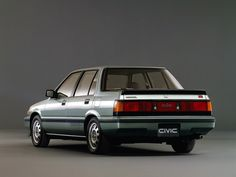 1985 Honda Civic Si Sedan - Awesome!