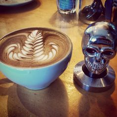 Latte Art Rosetta by Pierssmart