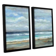 Shop for ArtWall Silvia Vassileva's Seashore, 2 Piece Floater Framed Canvas Set. Get free delivery at Overstock.com - Your Online Art Gallery Store! Get 5% in rewards with Club O!