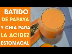 Papaya y chia Healthy Juice Recipes, Healthy Detox, Healthy Juices, Detox Recipes, Healthy Drinks, Vegetarian Recipes, Healthy Milkshake, Milkshake Recipes, Smoothie Recipes