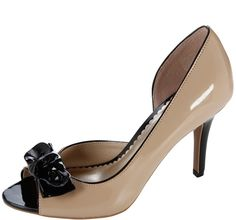 Women's Lipstick Bow Pump by Fioni in Size 11 (Nude) $24.99