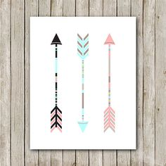 Arrow Printable 8x10 Instant Download Arrow by MossAndTwigPrints