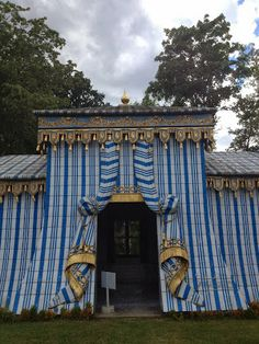 La Tente Tartare - part of the Château de Groussay, the Gardens & Follies by Emilio Terry; built between 1950 & 1970