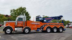 Image may contain: sky, car and outdoor Tow Truck, Big Trucks, All European Countries, Sky Car, Transportation, Peterbilt Trucks, American, Image, Outdoor