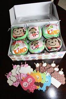 Onesie Cupcakes