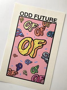 Discover recipes, home ideas, style inspiration and other ideas to try. Odd Future Wallpapers, Odd Future Wolf Gang, Future Album, Tyler The Creator Wallpaper, Future Logo, Cyberpunk Art, Flower Boys, Sale Poster, Wall Collage