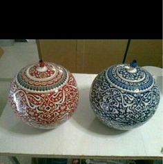 Ceramic Plates, Porcelain Tile, Objects, Jar, Ceramics, Decor, Vases, Favorite Color, Pottery Plates