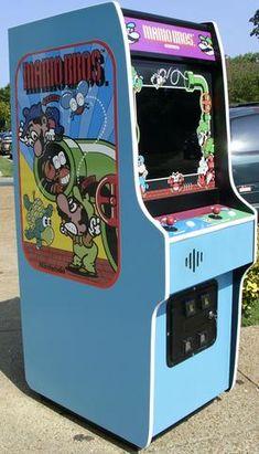 Mario Brothers, plays Super Mario Also, lots of new parts, extra sharp Play Super Mario, Retro Arcade Games, Arcade Machine, Game Room Decor, Mario Brothers, Life Moments, Vintage Games, Plays, Originals