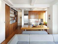 Transformer Loft - kitchen, architecture   studio Garneau   Remodelista Architect / Designer Directory