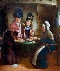 Lomas, John Lane (b,1816)- Fortune Teller -2b