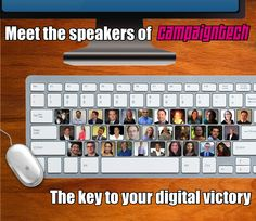 Meet the speakers of CampaignTech 2013 - The key to your digital victory at http://www.campaigntechconference.com/speakers