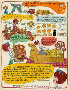 Cannon Towels and Sheets, 1967 by MewDeep, via Flickr